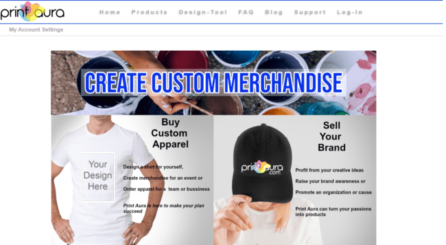 Selling Print-On-Demand Products