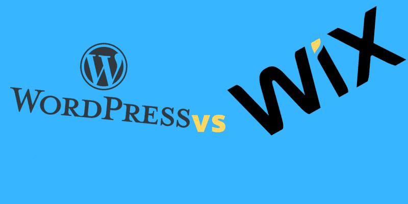 WordPress Vs.Wix