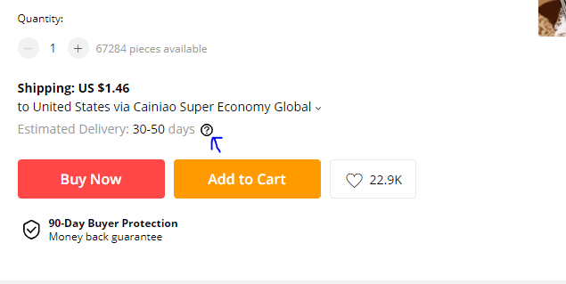 Aliexpress supplier