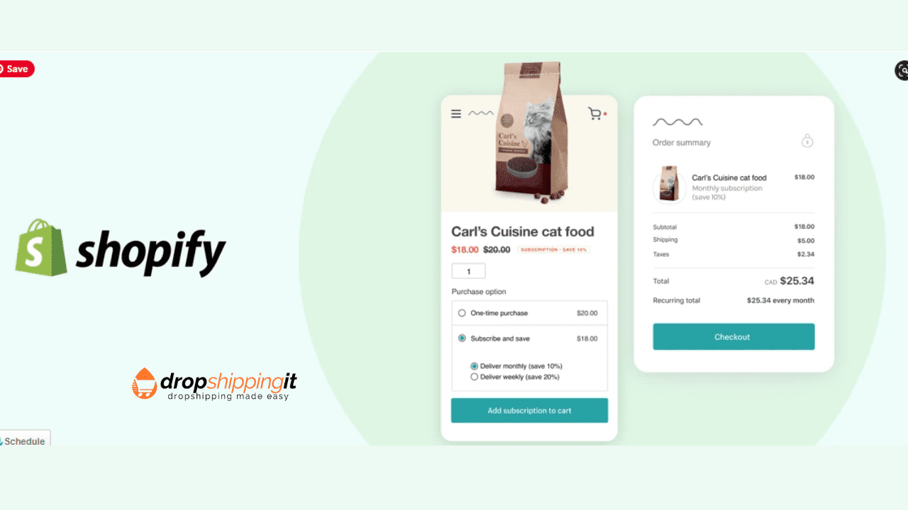 Subscriptions In Shopify