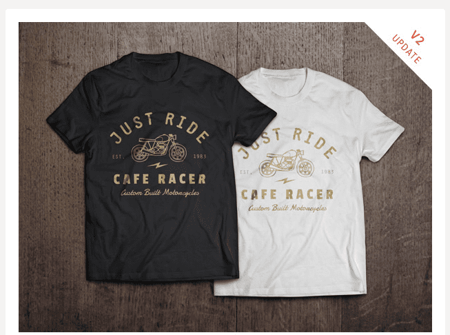 T-shirt-Templates and Mockups