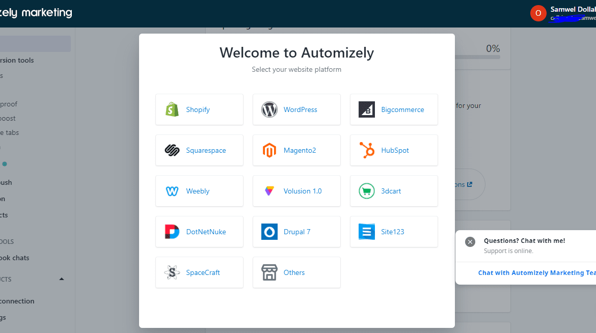 Automizely email marketing App