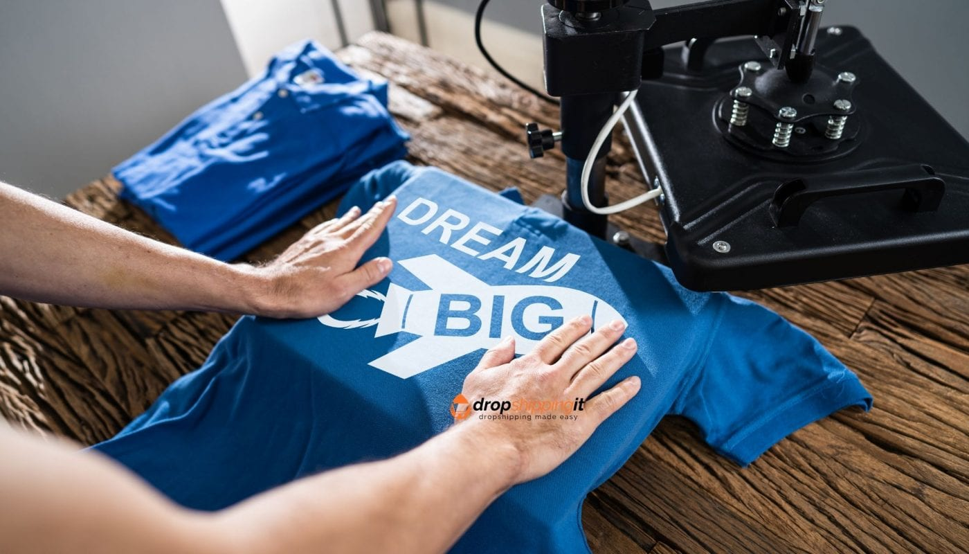 Print on demand t-shirts
