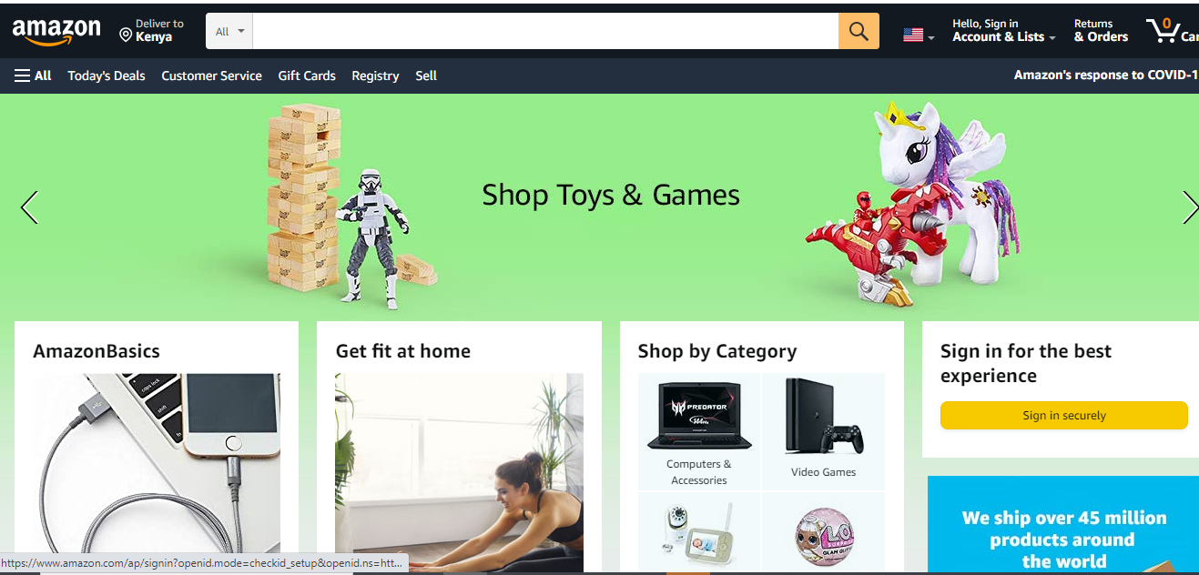 Online selling sites
